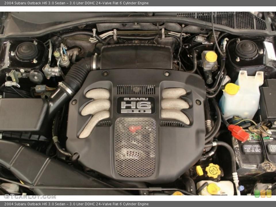 Subaru 6 Cylinder >> 3 0 Liter Dohc 24 Valve Flat 6 Cylinder Engine For The 2004