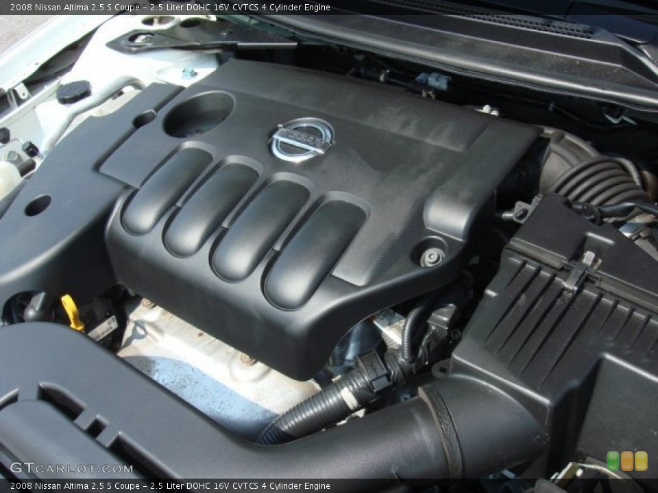 2 5 Liter Dohc 16v Cvtcs 4 Cylinder Engine For The 2008