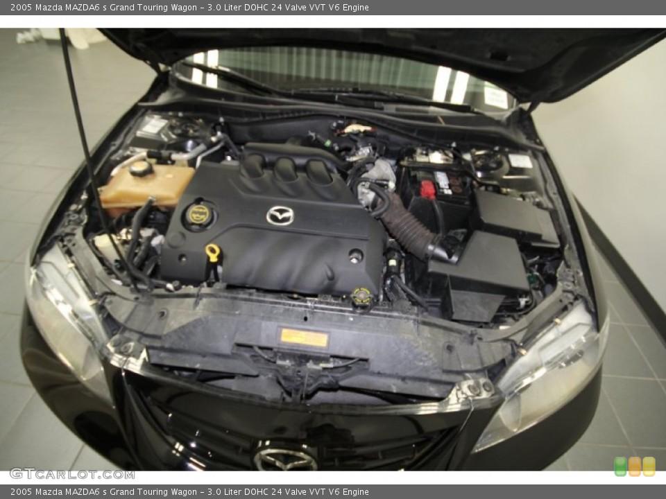 3.0 Liter DOHC 24 Valve VVT V6 Engine for the 2005 Mazda ...
