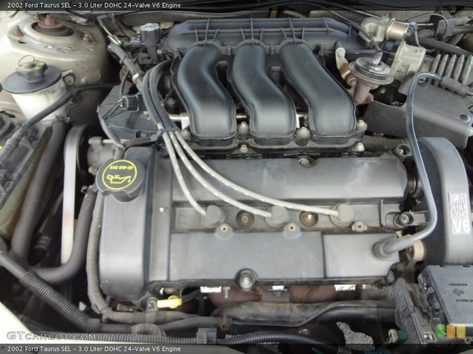 3.0 Liter DOHC 24-Valve V6 Engine for the 2002 Ford Taurus ...