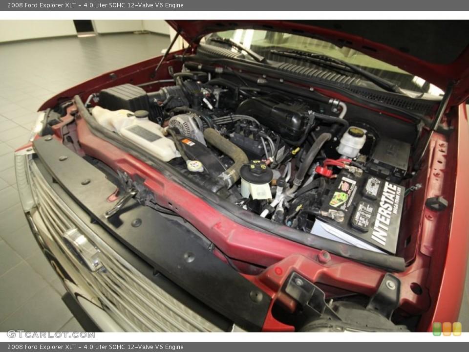 4.0 Liter SOHC 12-Valve V6 Engine for the 2008 Ford Explorer #67594650
