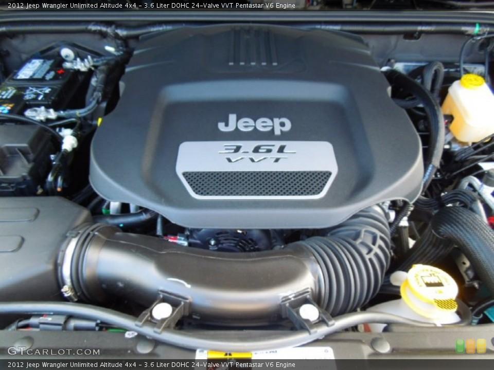 3.6 Liter DOHC 24-Valve VVT Pentastar V6 Engine for the ...