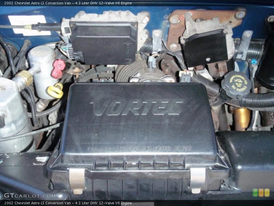 4.3 Liter OHV 12-Valve V6 Engine for the 2002 Chevrolet Astro #68507371