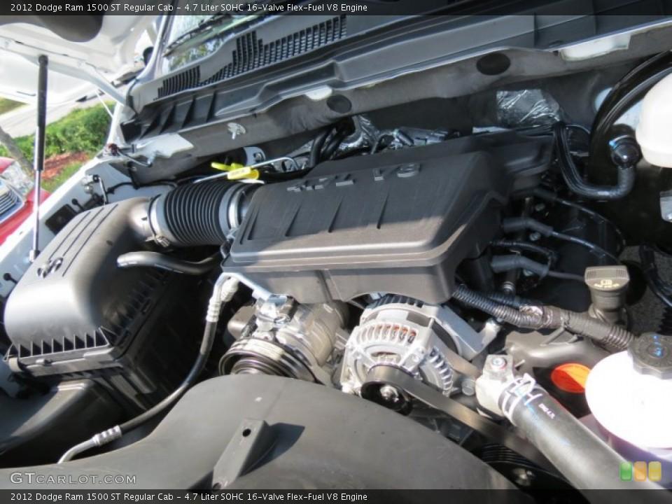 Liter SOHC 16-Valve Flex-Fuel V8 Engine for the 2012 Dodge Ram 1500