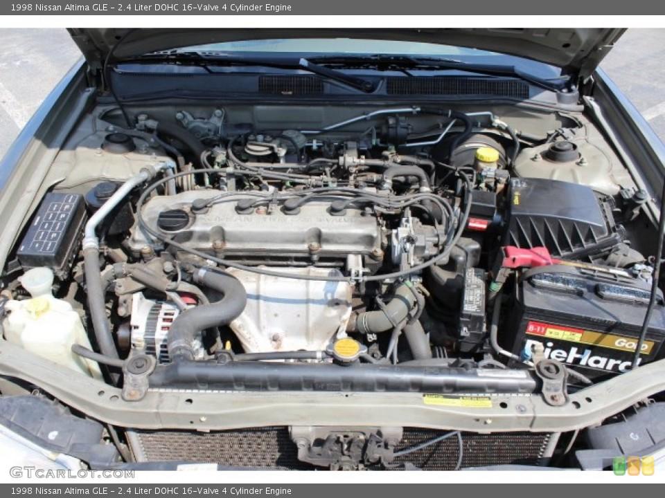 similiar altima 2 4 motor keywords liter dohc 16 valve 4 cylinder engine on the 1998 nissan altima