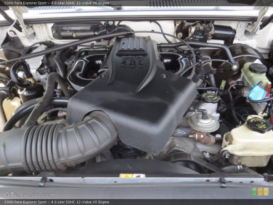 4.0 Liter SOHC 12-Valve V6 Engine for the 2000 Ford Explorer #69696915