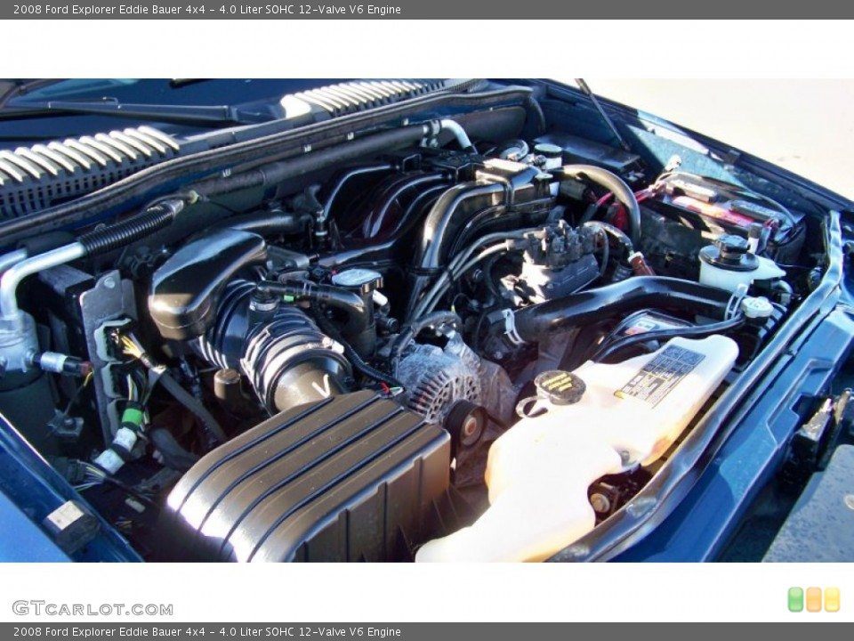 4.0 Liter SOHC 12-Valve V6 Engine for the 2008 Ford Explorer #73728041