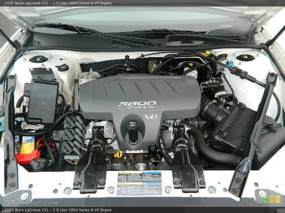 3 8 Liter 3800 Series Iii V6 Engine For The 2005 Buick