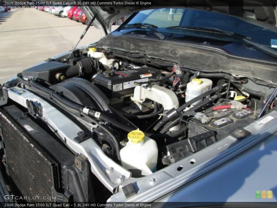 Quad Turbo Diesel ho Cummins Turbo Diesel i6