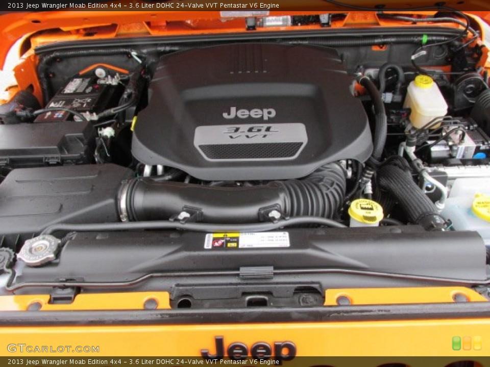 3.6-Liter pentastar v6 jeep wrangler