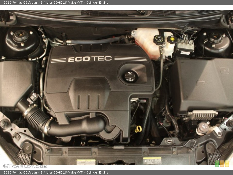 2.4 Liter DOHC 16-Valve VVT 4 Cylinder 2010 Pontiac G6 ...