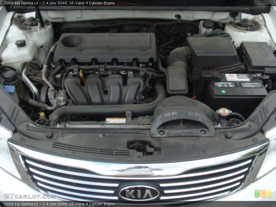 2.4 Liter DOHC 16-Valve 4 Cylinder Engine for the 2009 Kia ...