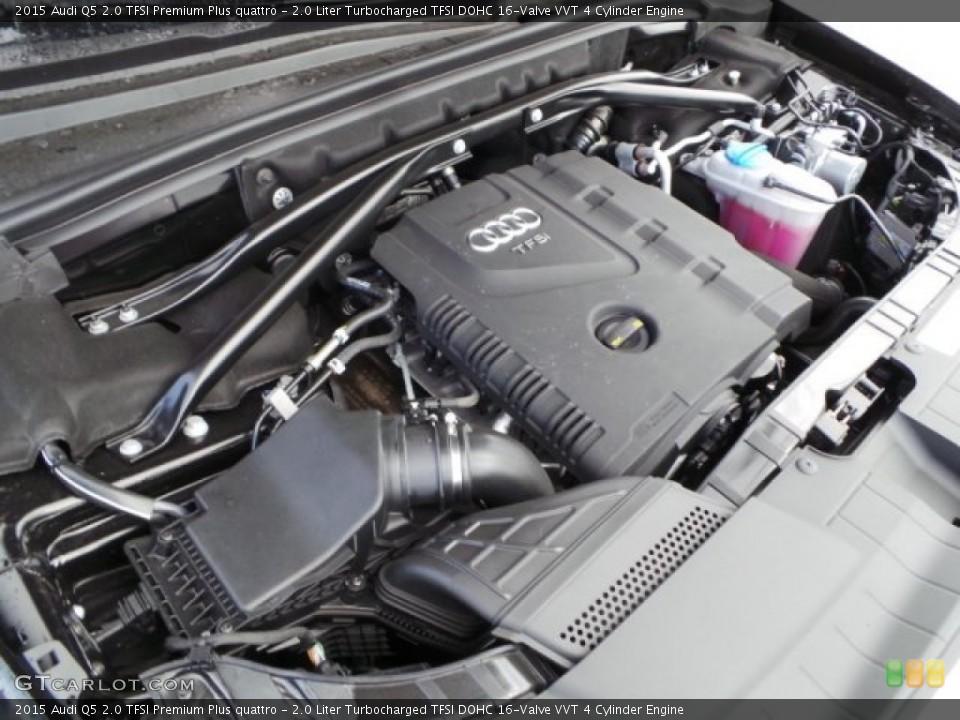 20 Liter Turbocharged Tfsi Dohc 16valve Vvt 4 Cylinder 2015 Audi