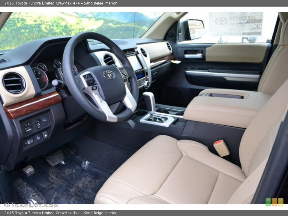 Sand Beige 2015 Toyota Tundra Interiors