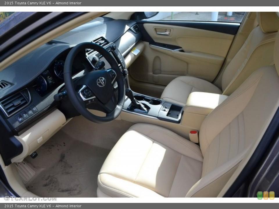 Almond 2015 Toyota Camry Interiors