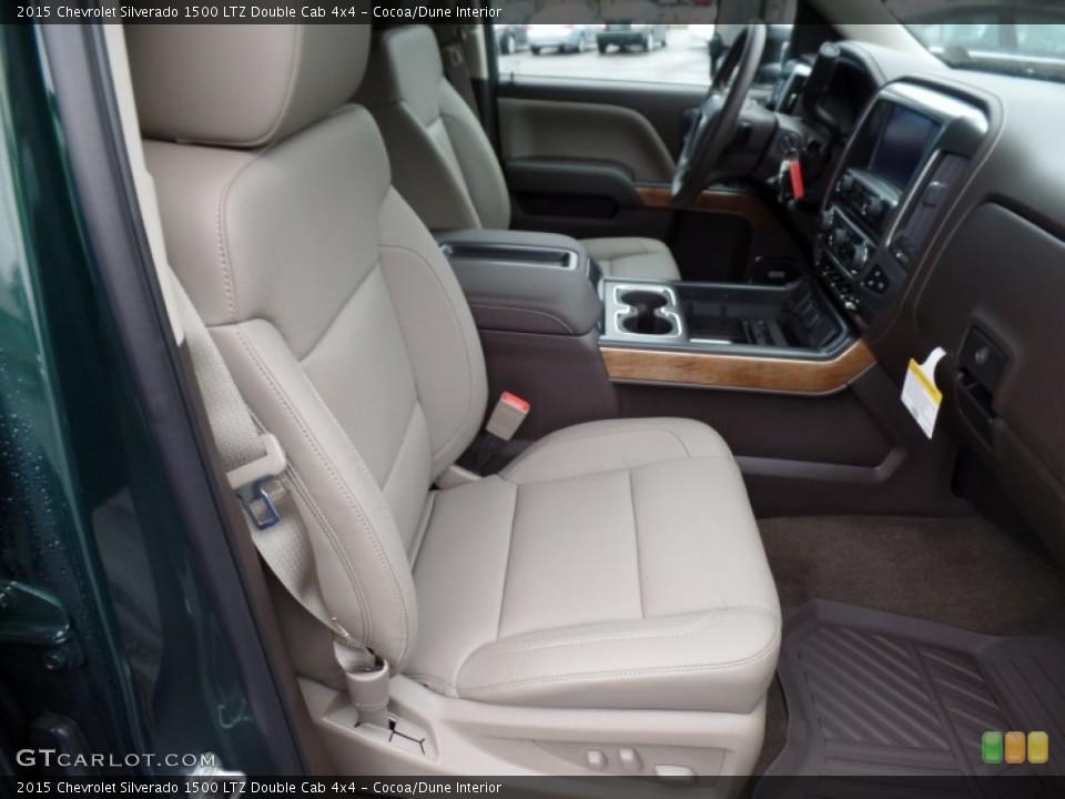 Cocoa/Dune 2015 Chevrolet Silverado 1500 Interiors