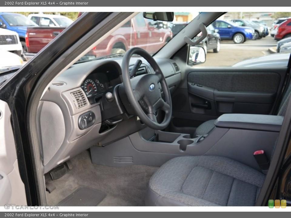 Graphite Interior Photo for the 2002 Ford Explorer XLS 4x4 #100589105