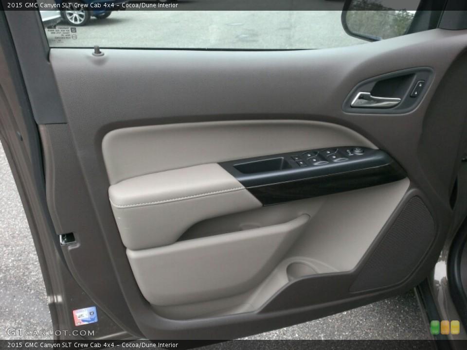 Cocoa/Dune Interior Door Panel for the 2015 GMC Canyon SLT Crew Cab 4x4 #100703600