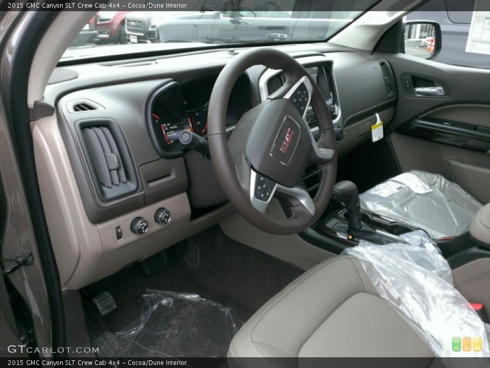 Cocoa/Dune Interior Prime Interior for the 2015 GMC Canyon SLT Crew Cab 4x4 #100703627