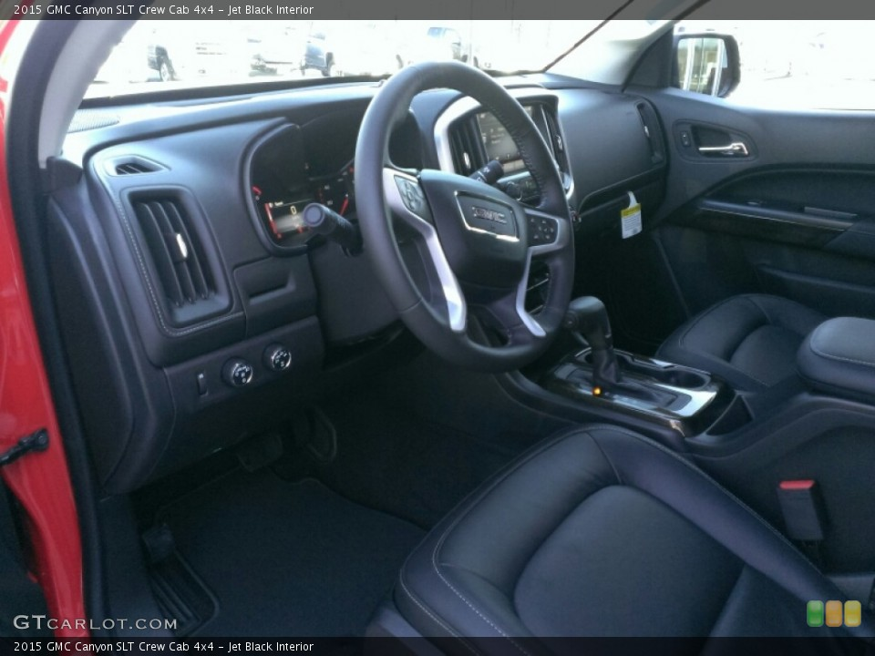 Jet Black 2015 GMC Canyon Interiors