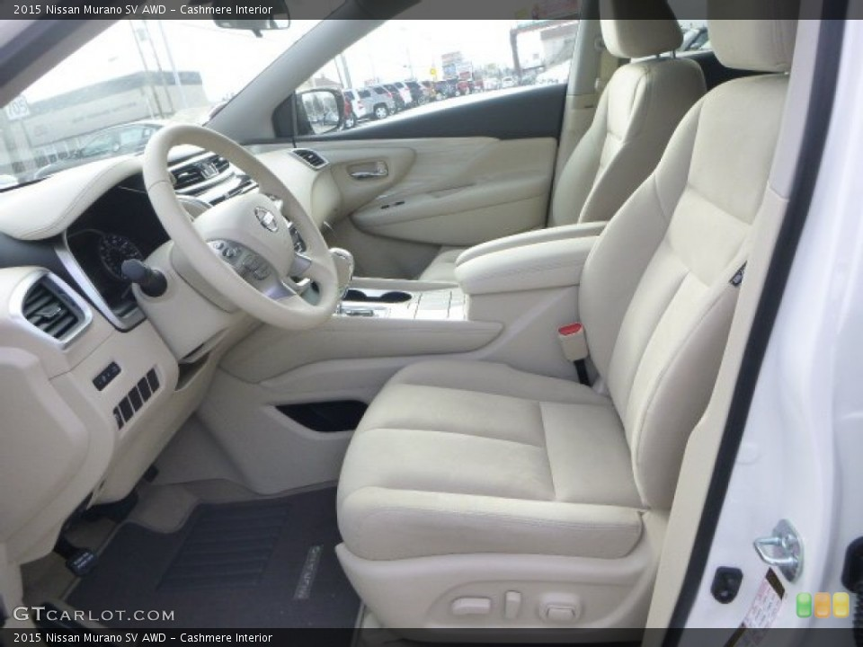 Cashmere 2015 Nissan Murano Interiors