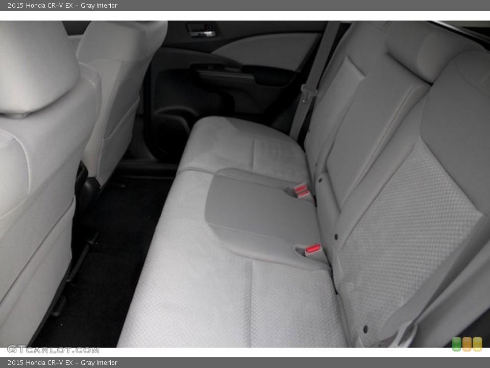 Gray Interior Rear Seat for the 2015 Honda CR-V EX #101449608