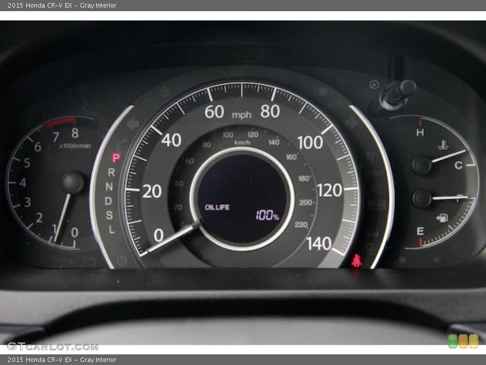 Gray Interior Gauges for the 2015 Honda CR-V EX #101451016