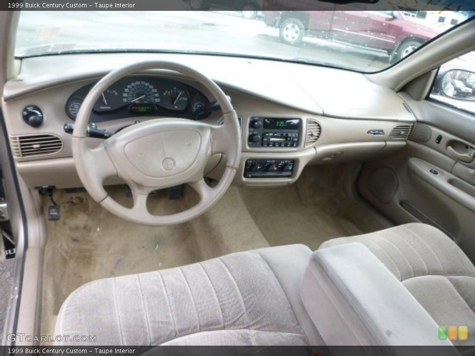 Taupe Interior Photo for the 1999 Buick Century Custom #101512838