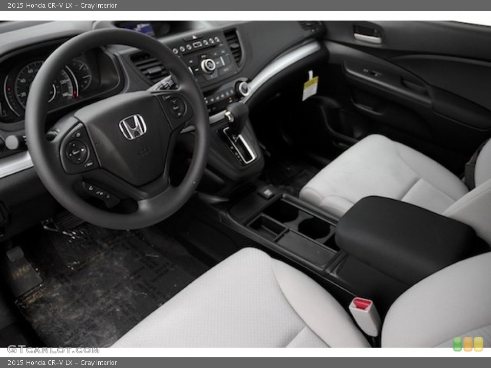 Gray 2015 Honda CR-V Interiors