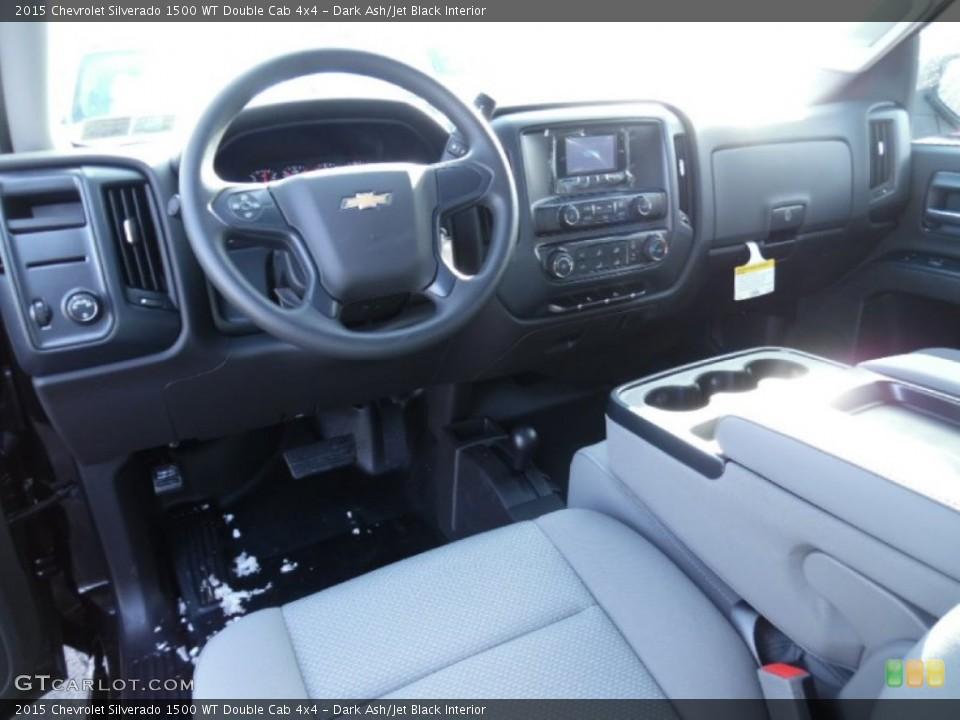 Dark Ash/Jet Black 2015 Chevrolet Silverado 1500 Interiors