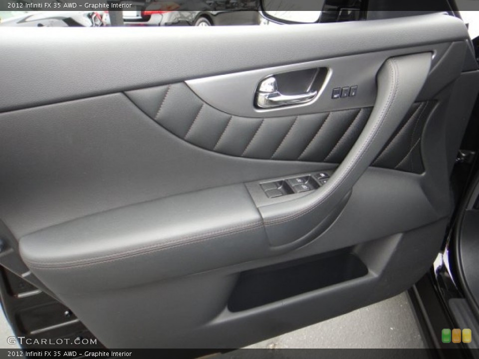 Graphite Interior Door Panel for the 2012 Infiniti FX 35 AWD #102102381