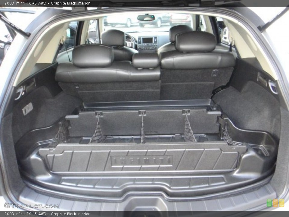 Graphite Black Interior Trunk for the 2003 Infiniti FX 45 AWD #102173333