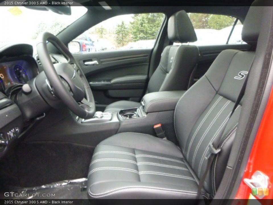 Black 2015 Chrysler 300 Interiors