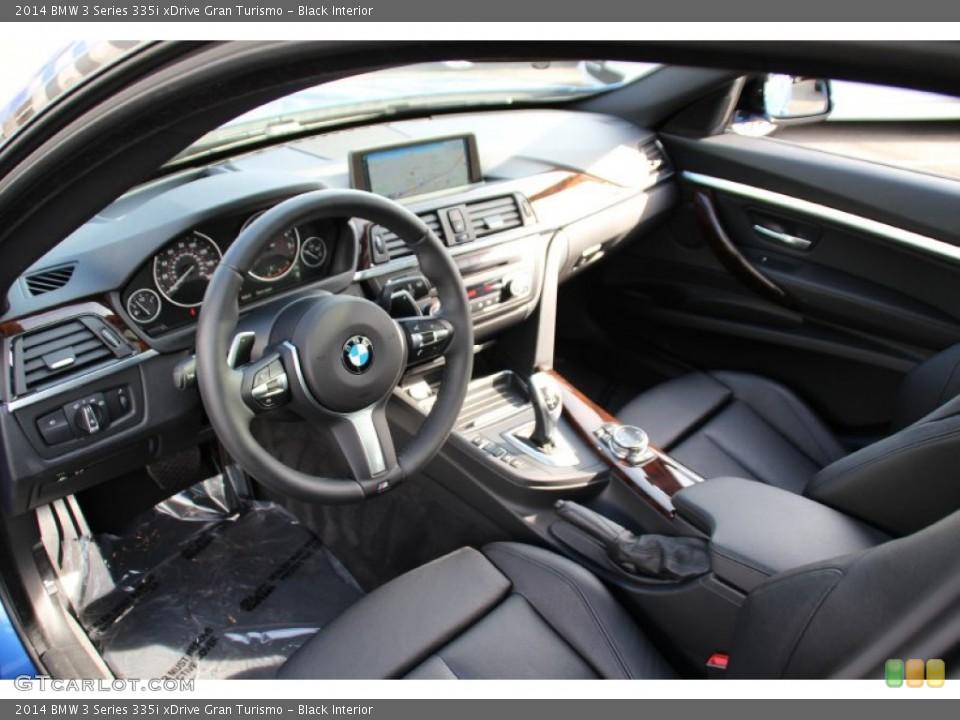 Black 2014 BMW 3 Series Interiors