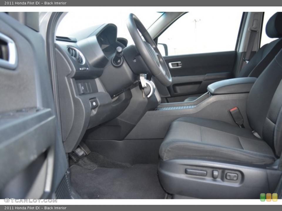 Black Interior Photo for the 2011 Honda Pilot EX #102939638