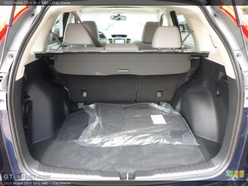 Gray Interior Trunk for the 2015 Honda CR-V EX-L AWD #103097906
