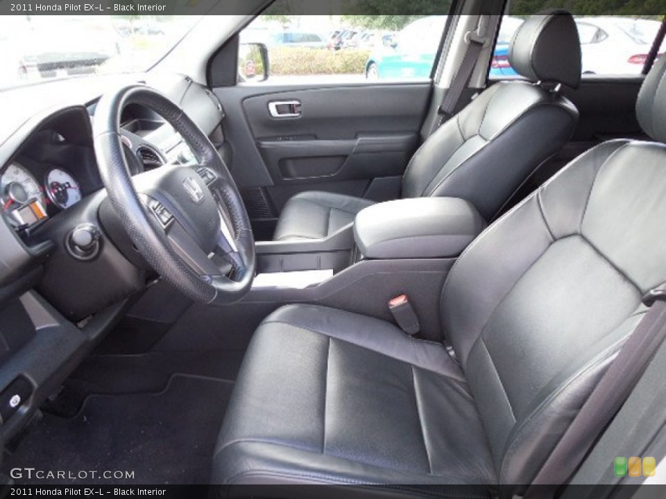Black Interior Photo for the 2011 Honda Pilot EX-L #103619594