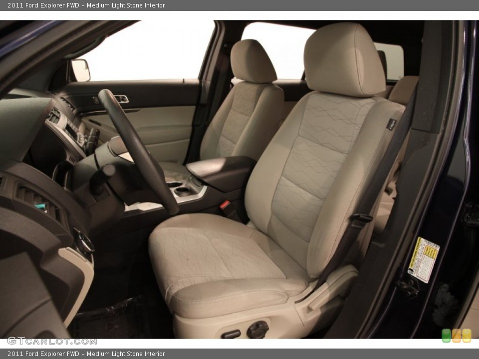 Medium Light Stone 2011 Ford Explorer Interiors
