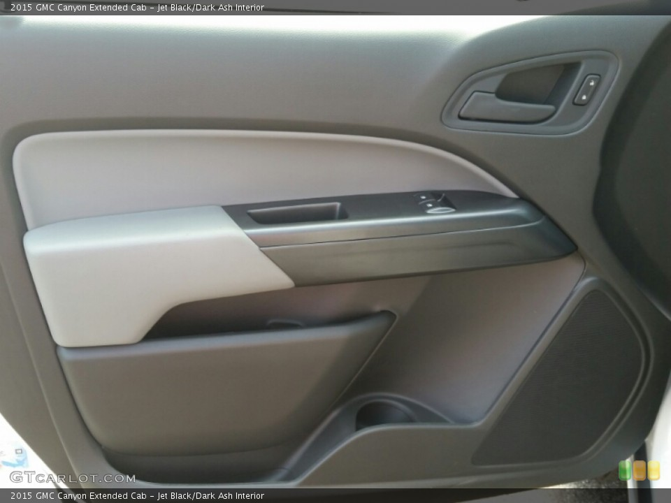 Jet Black/Dark Ash Interior Door Panel for the 2015 GMC Canyon Extended Cab #105240362