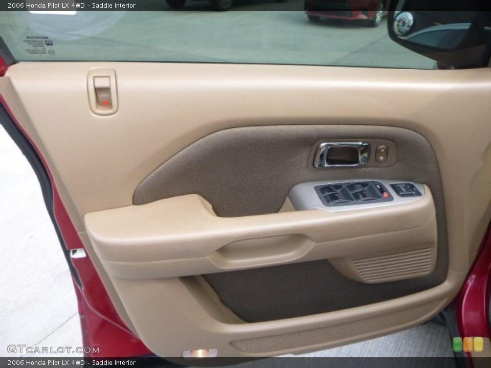 Saddle Interior Door Panel for the 2006 Honda Pilot LX 4WD #105285580