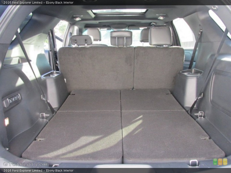 Ebony Black Interior Trunk for the 2016 Ford Explorer Limited #105519584