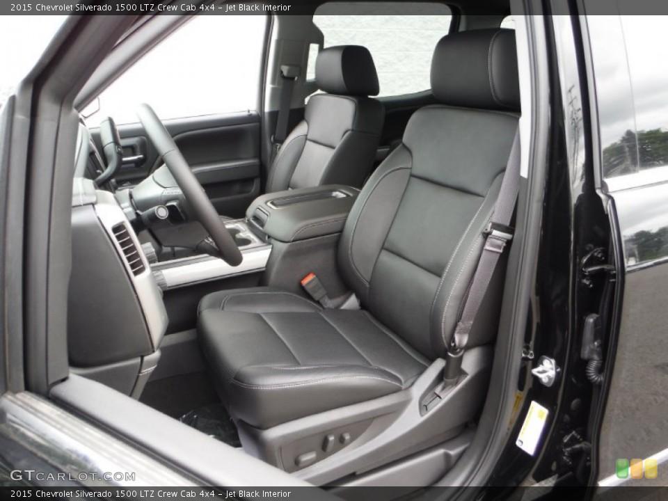 Jet Black 2015 Chevrolet Silverado 1500 Interiors