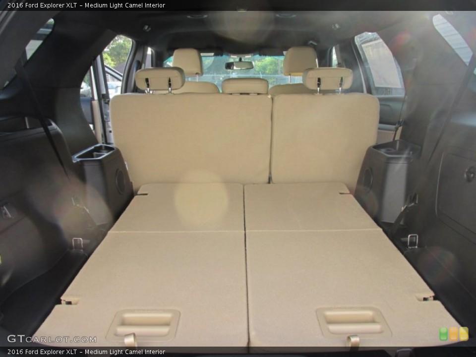 Medium Light Camel Interior Trunk for the 2016 Ford Explorer XLT #105885858