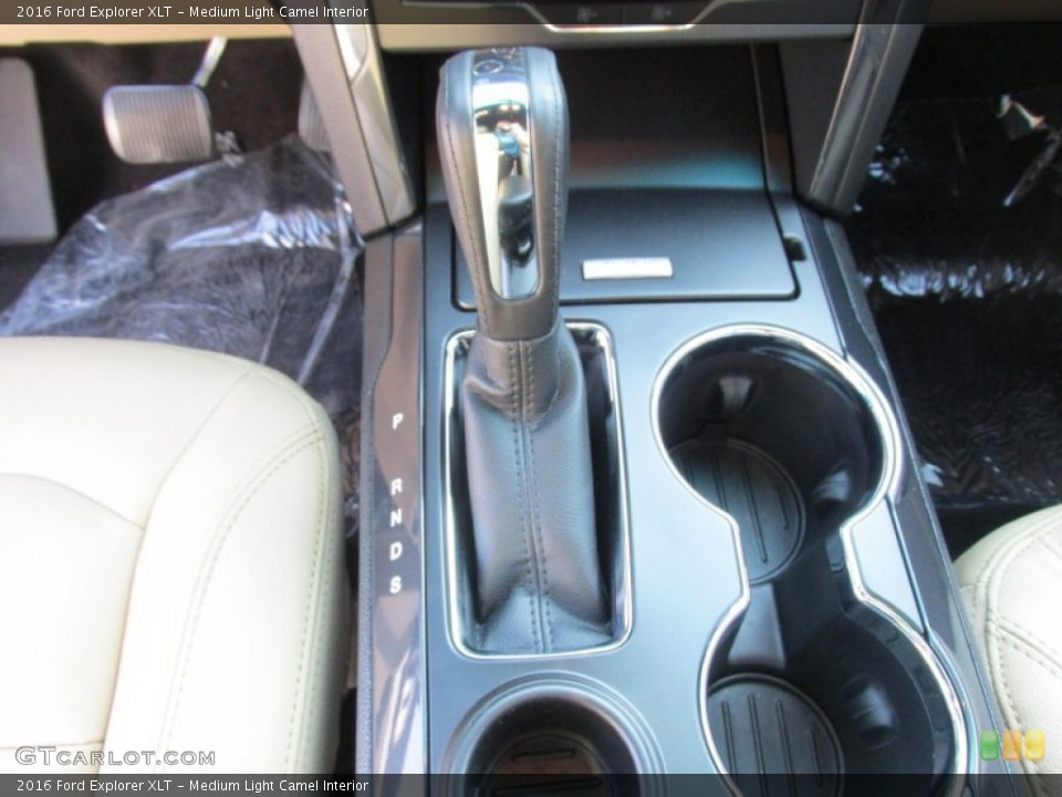 Medium Light Camel Interior Transmission for the 2016 Ford Explorer XLT #105886089