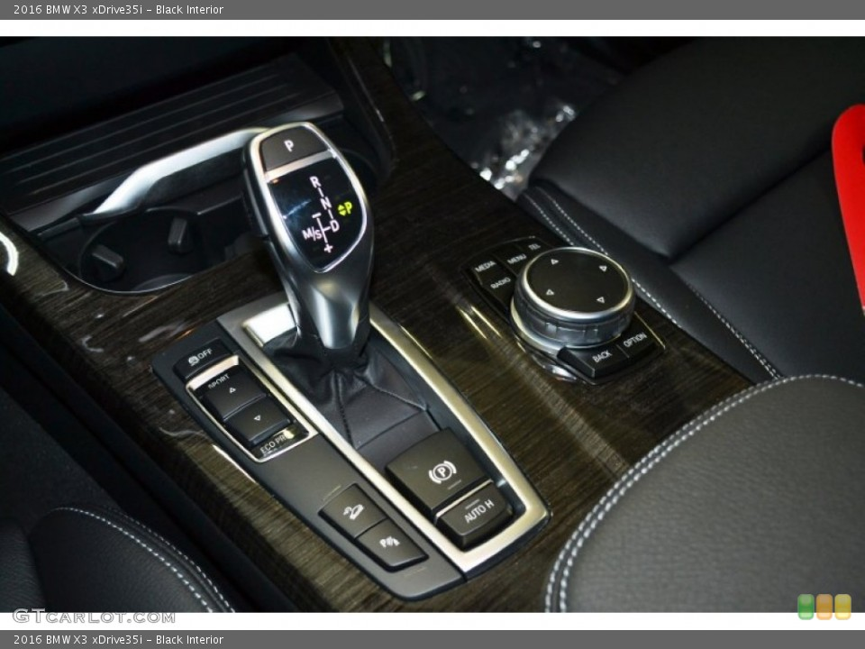 Black Interior Transmission for the 2016 BMW X3 xDrive35i #106467226