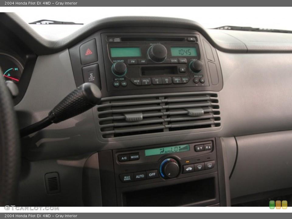 Gray Interior Controls for the 2004 Honda Pilot EX 4WD #106953051