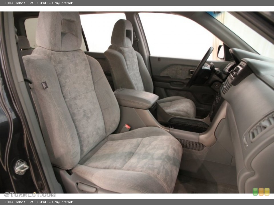 Gray Interior Front Seat for the 2004 Honda Pilot EX 4WD #106953087