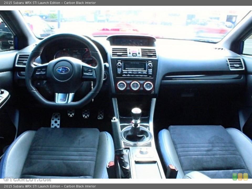 Carbon Black Interior Photo for the 2015 Subaru WRX STI Launch Edition #107530751