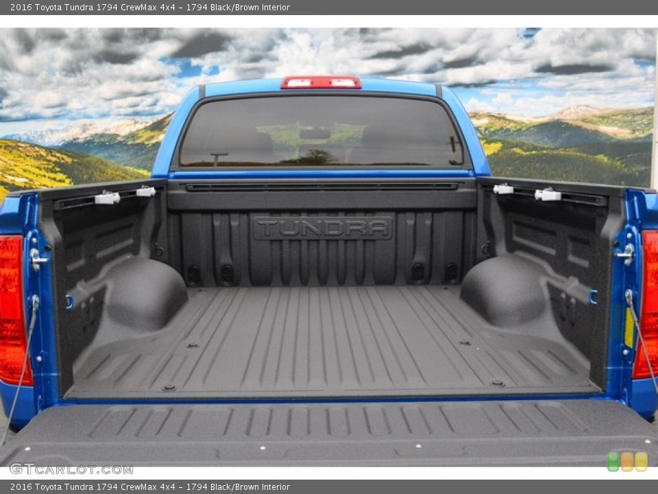 1794 Black/Brown Interior Trunk for the 2016 Toyota Tundra 1794 CrewMax 4x4 #107564448