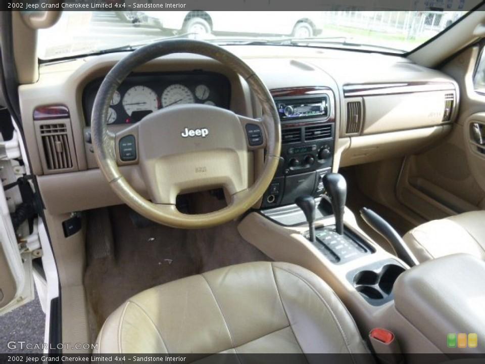 Sandstone Interior Photo for the 2002 Jeep Grand Cherokee Limited 4x4 #107574136 GTCarLot.com